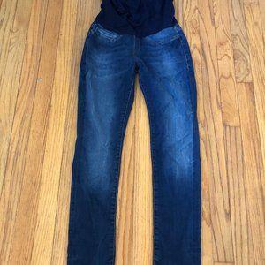 Mavi Over Belly Panel Maternity Jeans Size 26 / 28